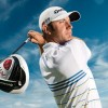 TaylorMade's Dustin Johnson takes weather-shorterned Barclays — with new kicks