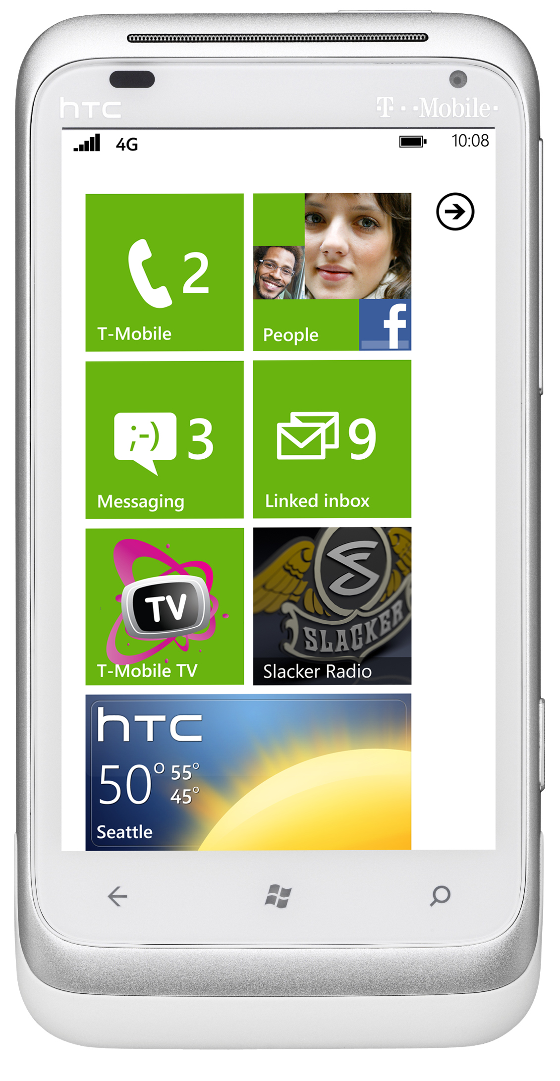 T mobile announces htc radar 4g its first windows 4g phone for Window 4g phone