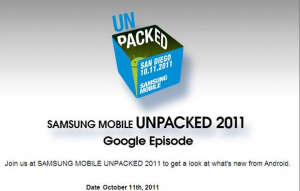 Samsung Google Invitation to What's New for Android