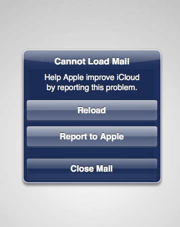 Apple apparently having issues with its new iCloud service