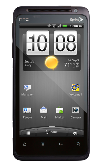 Sprint HTC Evo Design 4G