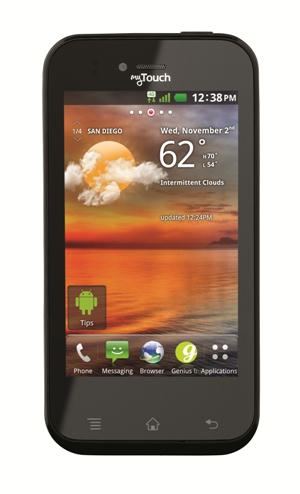 T-Mobile myTouch smartphone