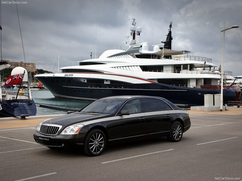 Maybach's last voyage will be sometime in 2013.
