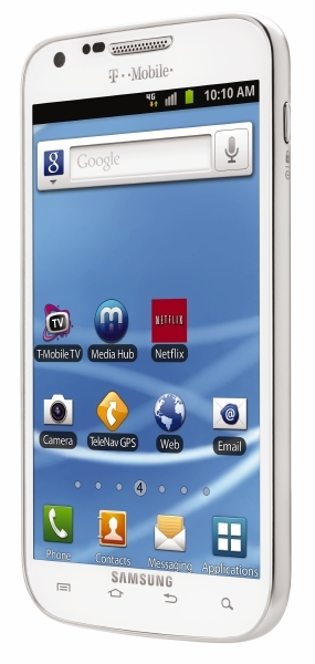 T-Mobile will offer a white Samsung Galaxy S II phone for the holidays