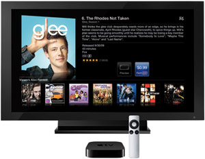 Report: Apple TV to launch summer 2012