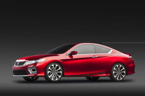 Honda unveiled its 2013 Accord Coupe Tuesday