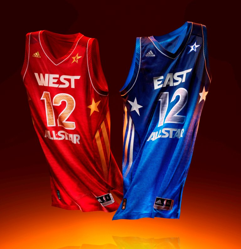 outlet store 8e198 4254e adidas unveils NBA All-Star uniforms, new shoes for Derrick Rose, Dwight  Howard