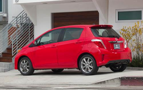 New Toyota Yaris more competitive for 2012