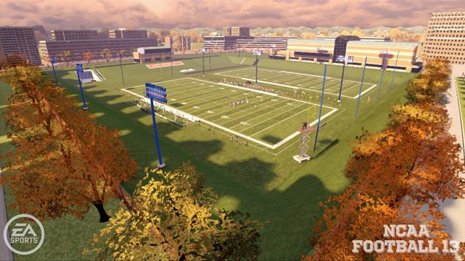 Exclusive video from EA Sports NCAA Football 13, plus preseason top 25