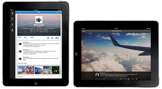 Twitter for iPad app is updated