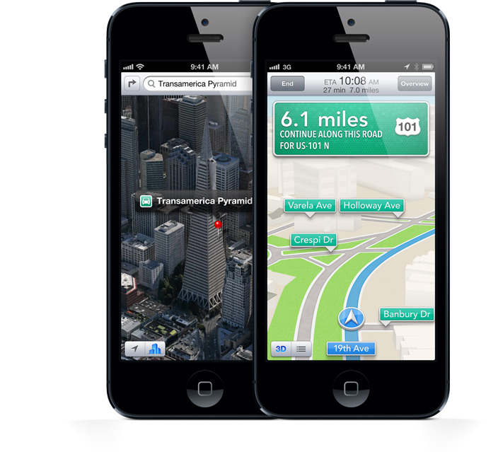 Apple CEO Tim Cook says Maps app will get better