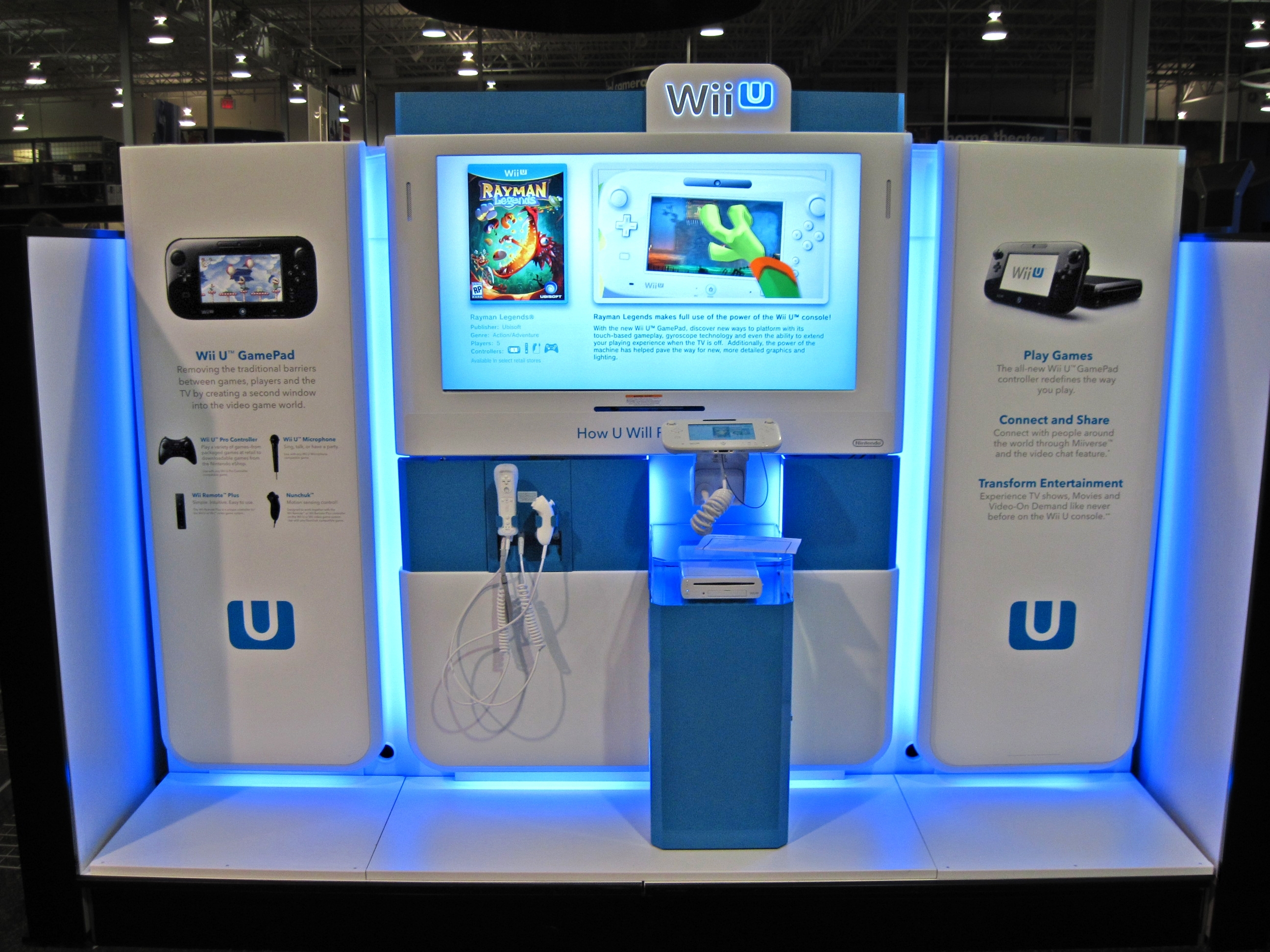 Nintendo adds Wii U kiosks for hands-on demos before launch