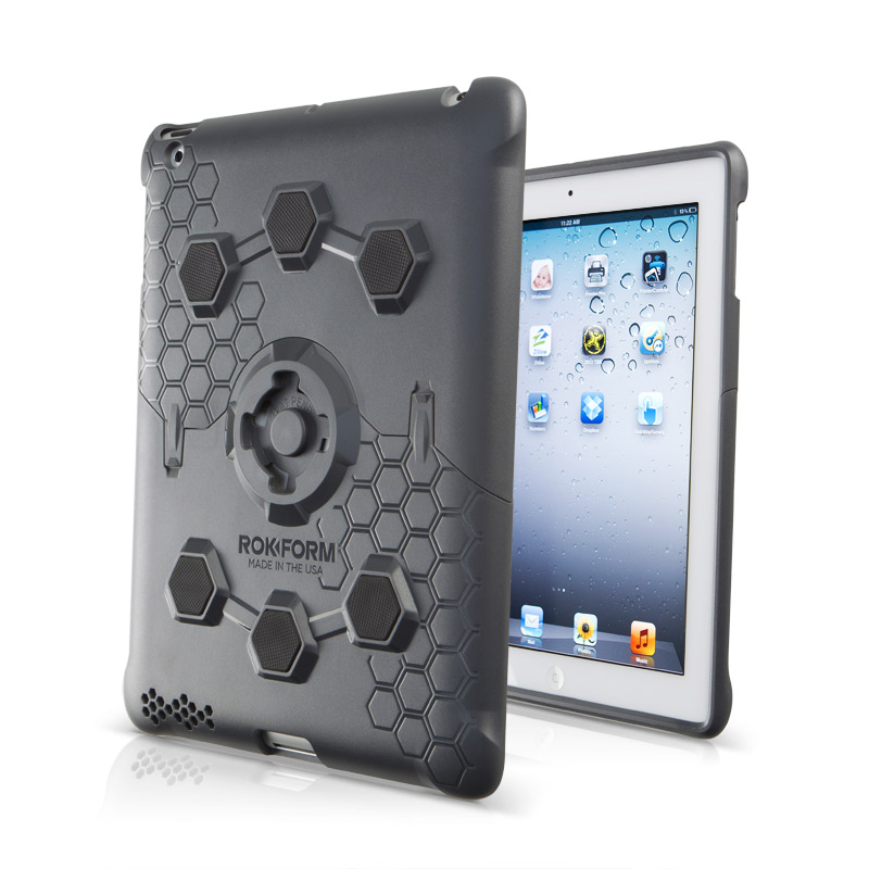 RokLock iPad case brings some serious protection — and functionality, too