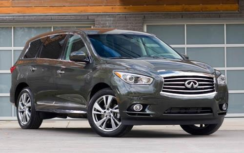 Infiniti JX35 SUV is well crafted, balanced effort