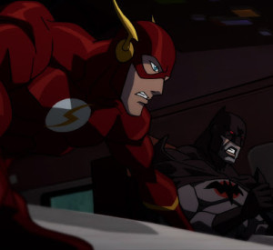 The Flash and Batman from Justice League: The Flashpoint Paradox