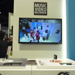 Sony shows off what its new Music Video Maker can do at NAMM 2014.