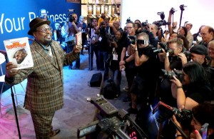 George Clinton at 2015 NAMM Media Preview Day