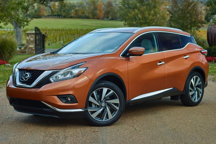 Murano gets bolder styling, better ride and handling