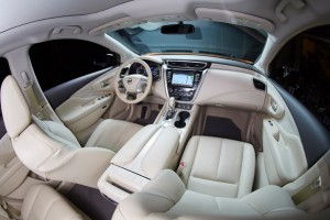 Stylish, spacious interior