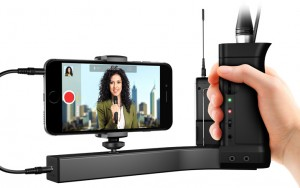 iKlip A/V - a complete mobile solution for professional audio and video recording with your smartphone.