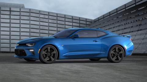 2016 Chevy Camaro SS is job well done