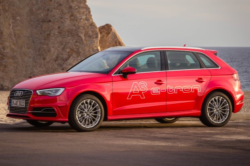 Audi's  e-tron hot hatch hybrid