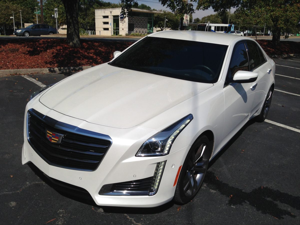 CTS-V Kicks Caddy In Gear