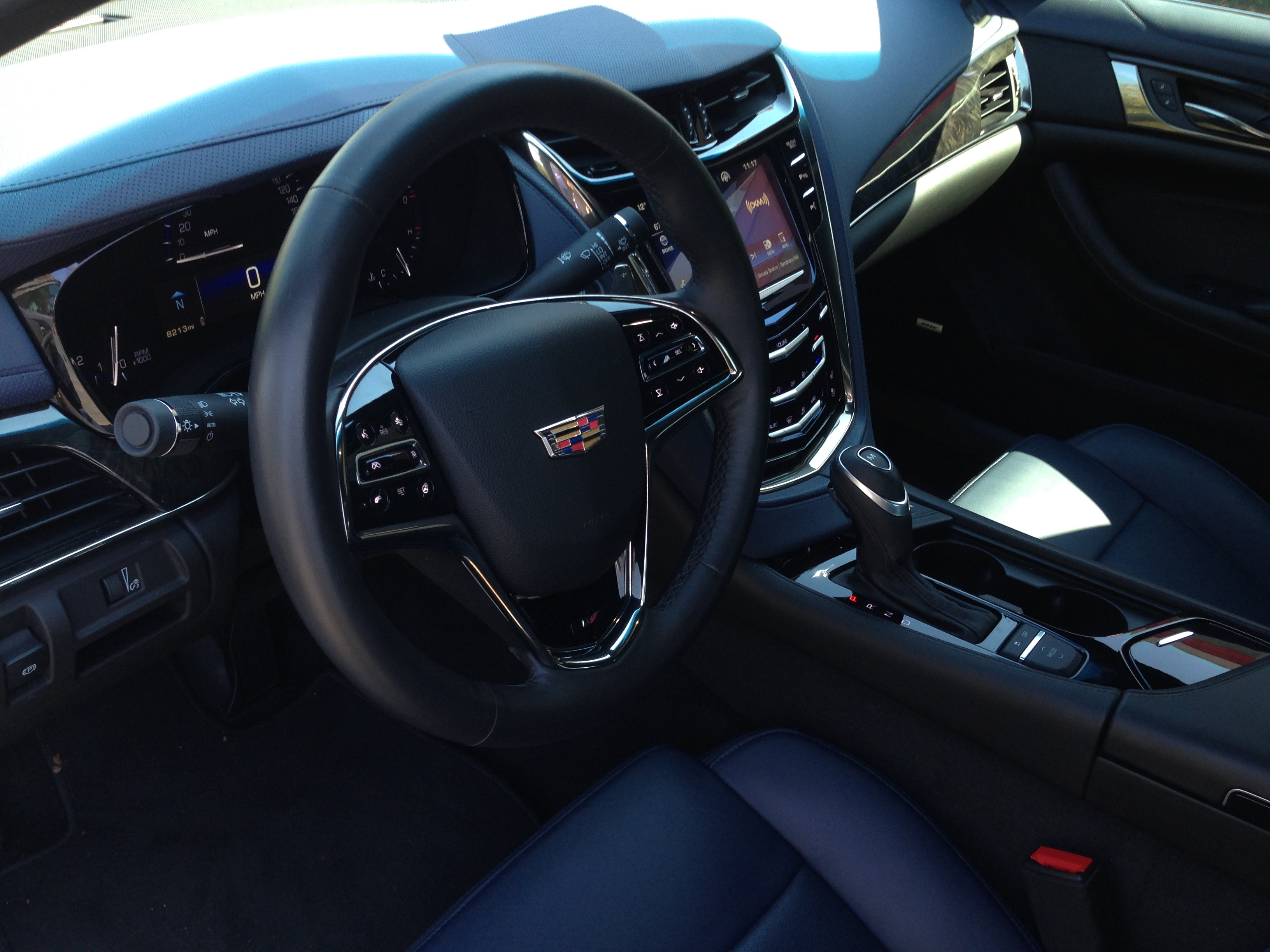 CTS interior is well done.