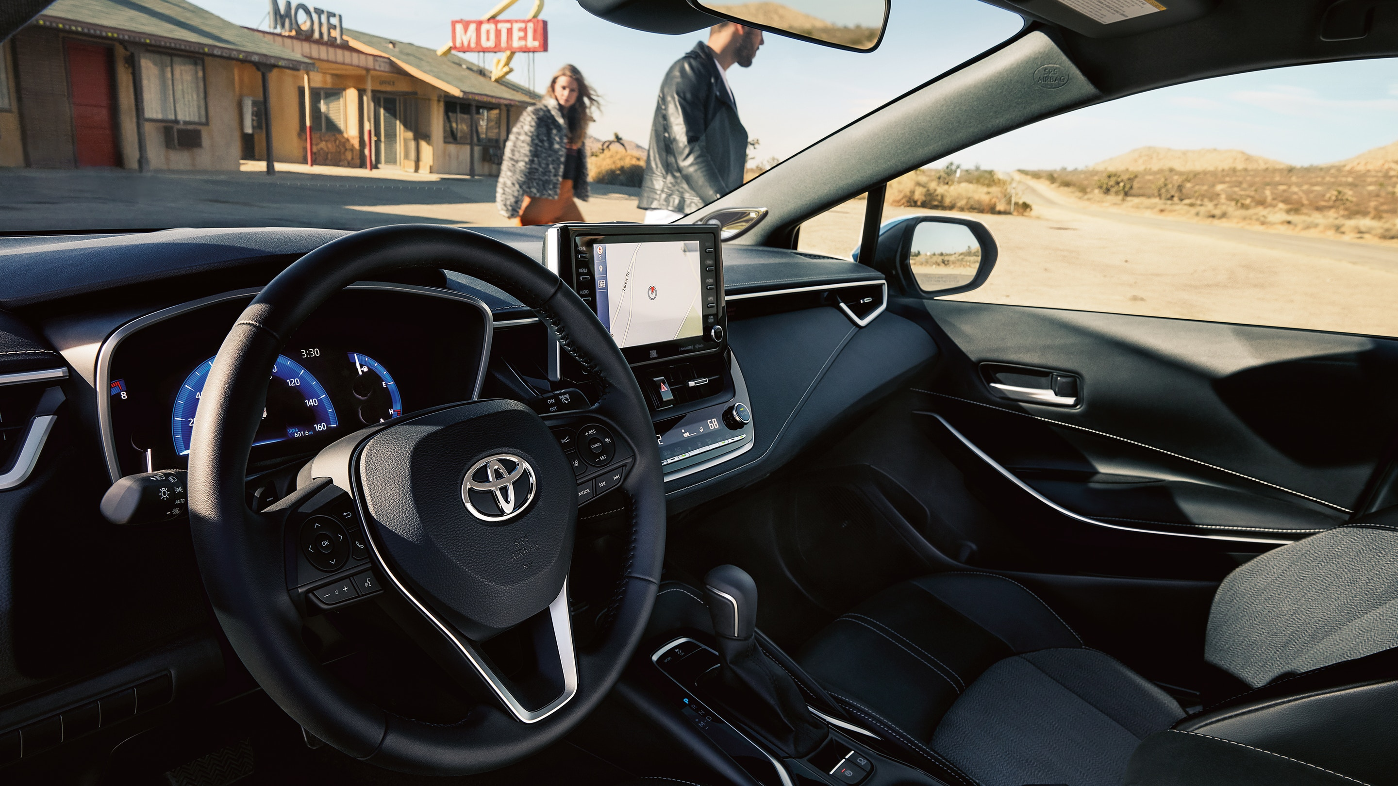 2019 Corolla hatchback interior
